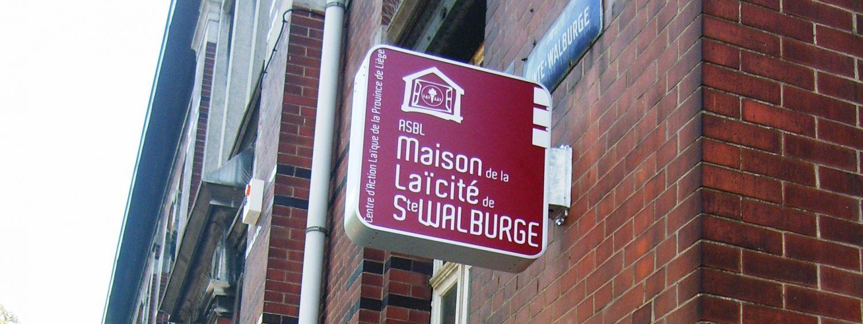 La maison de la laïcité de Sainte-Walburge